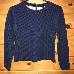 J. Crew Diamond Stitch sweatshirt